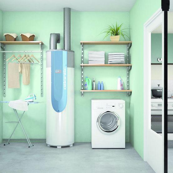 chauffe eau thermodynamique sur air ambiant non chauff odyss e atlantic chauffage chauffe eau. Black Bedroom Furniture Sets. Home Design Ideas