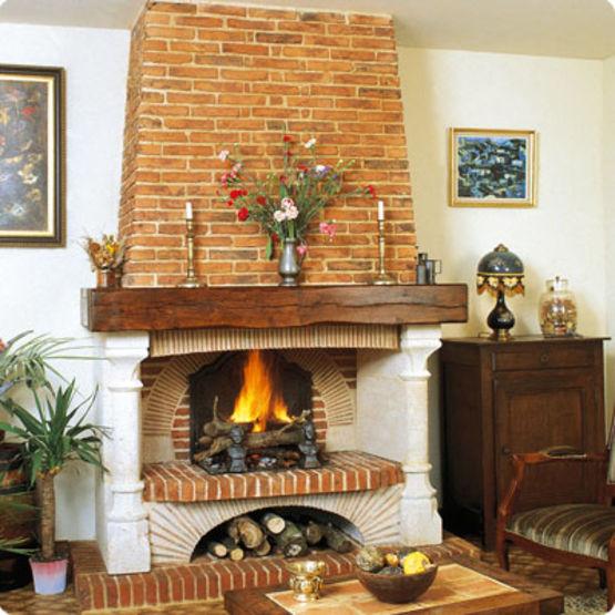 cheminee brique