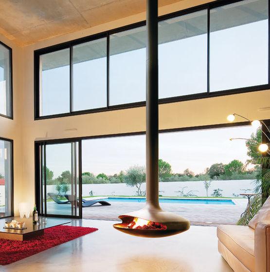 chemin e en acier suspendue et pivotante gyrofocus. Black Bedroom Furniture Sets. Home Design Ideas