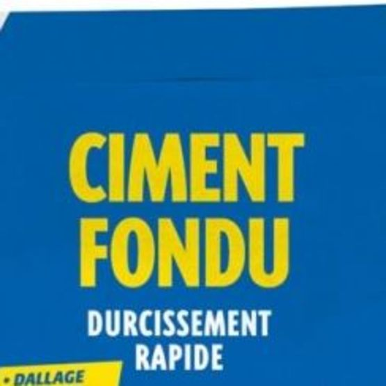 Ciments rapides | CIMENT FONDU - Ciments