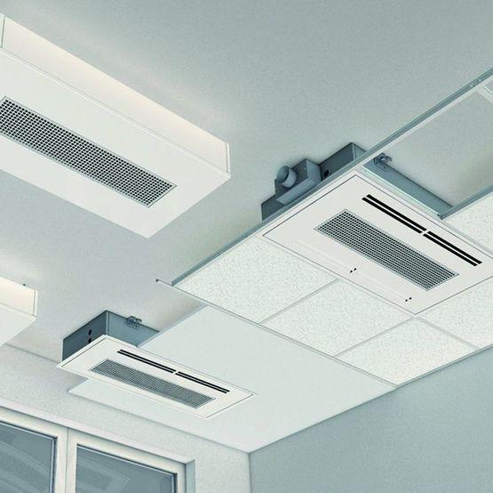 climatisation flexible de plafond effet coanda pour. Black Bedroom Furniture Sets. Home Design Ideas