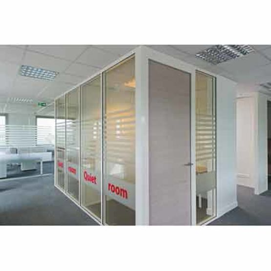 cloison amovible vitr e groupe qovans. Black Bedroom Furniture Sets. Home Design Ideas