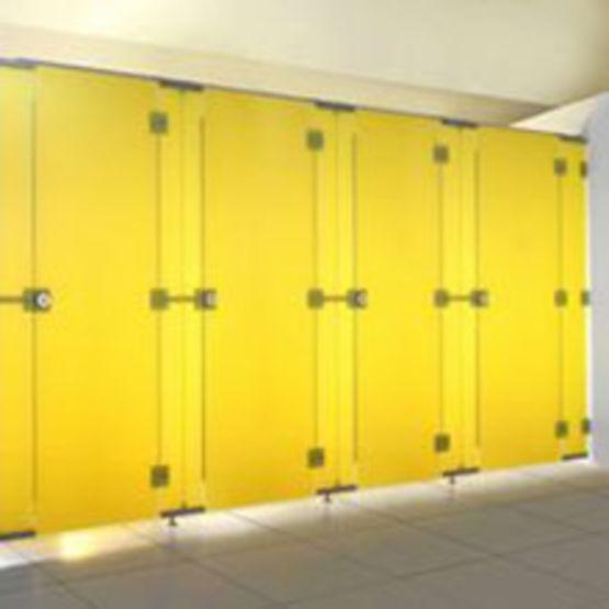 Cloisons sanitaires et wc en trois parements kemmlit - Panneaux salle de bain ...