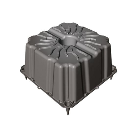 Coffrage perdu pour all gement de planchers bidirectionnels geoplast - Coffrage perdu metallique plancher collaborant ...