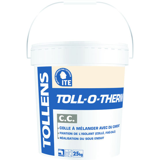 Colle en poudre pour ITE | Toll-O-Therm CP