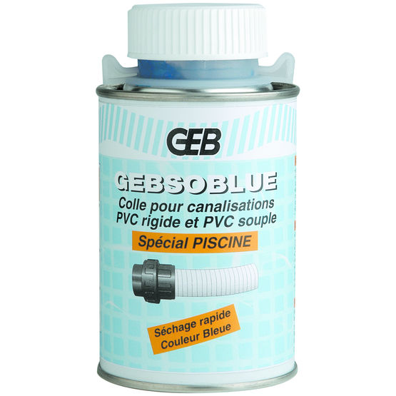 Colle pour canalisations de piscines gebsoblue geb for Colle pour pvc piscine