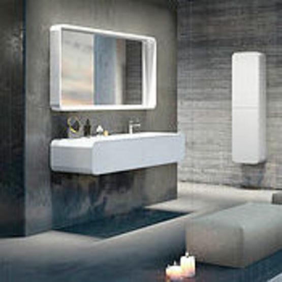E pure de kramer un mobilier de salle de bain haut de gamme for Accessoires salle bain haut gamme