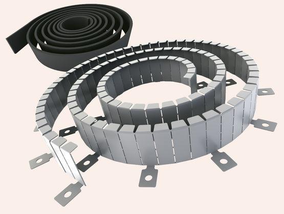collier coupe feu pour passages de r seaux techniques af systems. Black Bedroom Furniture Sets. Home Design Ideas