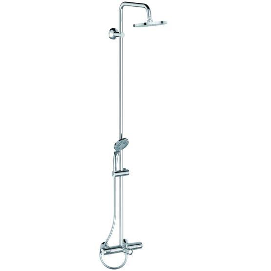 Colonne de bain douche thermostatique combi douche olyos - Cartouche thermostatique pour colonne de douche ...