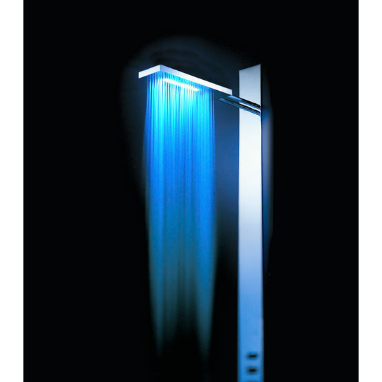 colonne de douche jets lumineux acquazzurra fratelli fantini. Black Bedroom Furniture Sets. Home Design Ideas
