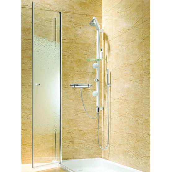 Colonne De Douche À Raccordement Facilité | Shower Kit Tube - Roca