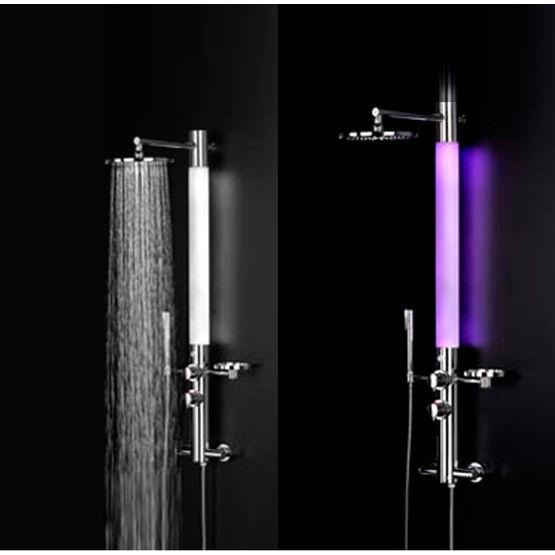 colonne de douche lumineuse