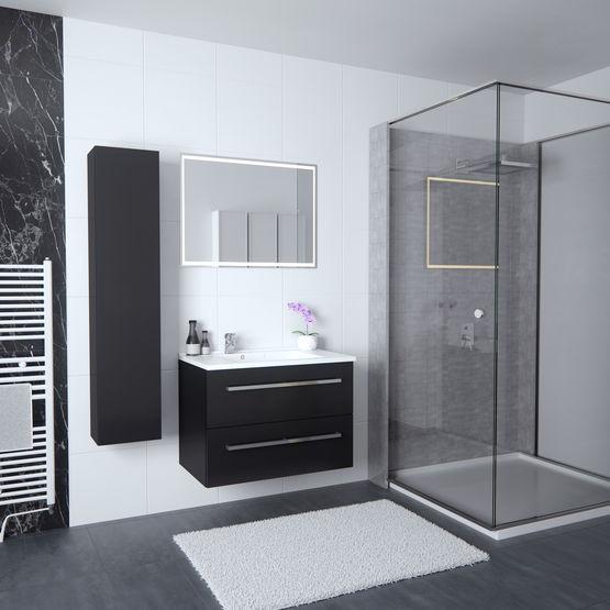 Solo colonne de salle de bain une porte ouvrante for Ou acheter une salle de bain