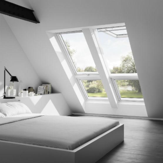combinaison all ge et fen tre de toit velux. Black Bedroom Furniture Sets. Home Design Ideas