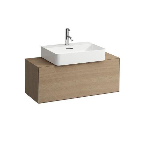 combinaison de meubles de salle de bains plaqu s ch ne. Black Bedroom Furniture Sets. Home Design Ideas