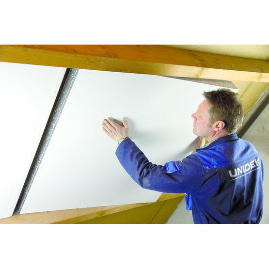 Complexe isolant pour rampants de toiture unidek for Pant de toiture