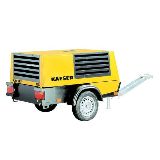 compresseur de chantier moteur diesel 30 6 kw mobilair m43 kaeser. Black Bedroom Furniture Sets. Home Design Ideas