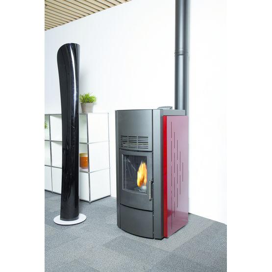Conduits concentriques pour insert gaz ou po le granul s de bois syst me - Insert ou poele a bois ...