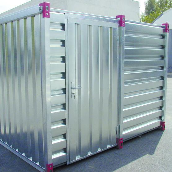 Conteneur de stockage en acier galvanis containers for Container en