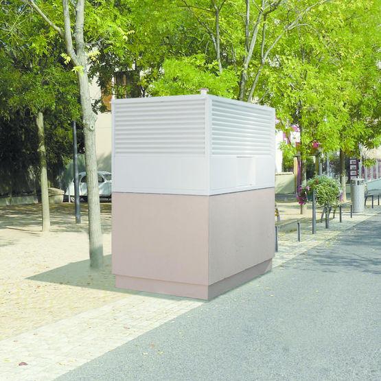conteneur hors sol pour tri s lectif bihr box system bihr environnement. Black Bedroom Furniture Sets. Home Design Ideas
