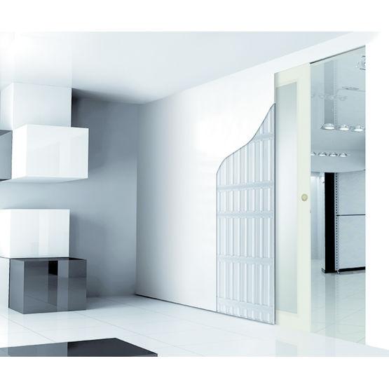 contre ch ssis pour passage de 60 240 cm de largeur. Black Bedroom Furniture Sets. Home Design Ideas