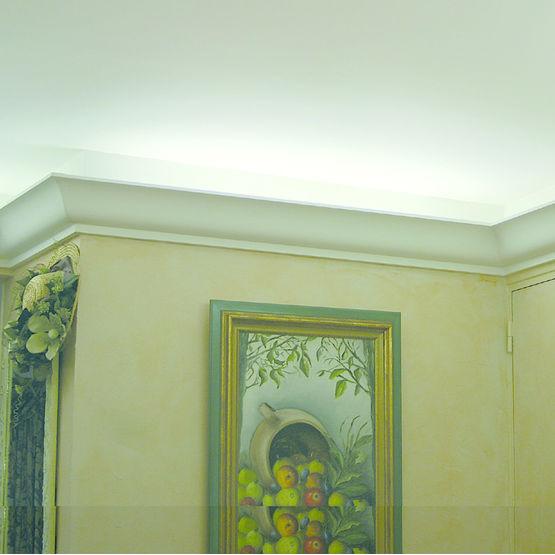 corniche en staff d 39 clairage indirect corniche lumineuse secstaff. Black Bedroom Furniture Sets. Home Design Ideas