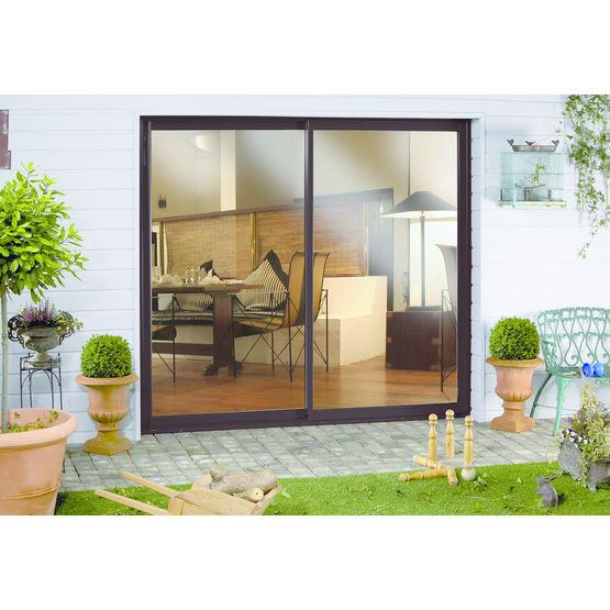 coulissant sur mesure isolation thermique renforc e sensation alu art et fen tres. Black Bedroom Furniture Sets. Home Design Ideas