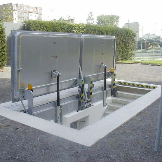Trappe Vide Sanitaire Exterieur