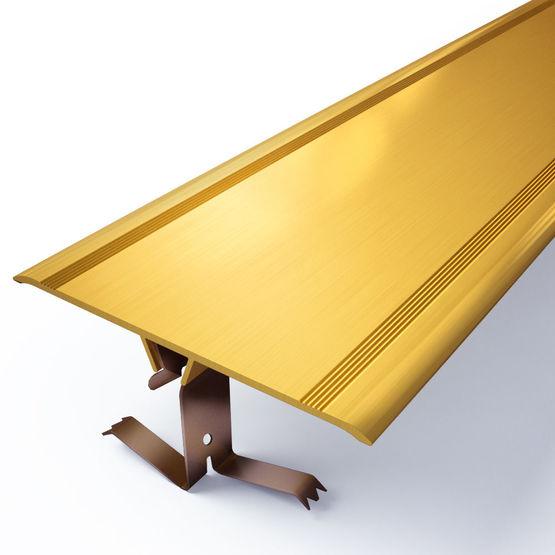 Couvre joint clipser pour habillage de murs sols for Joint de dilatation pour carrelage exterieur