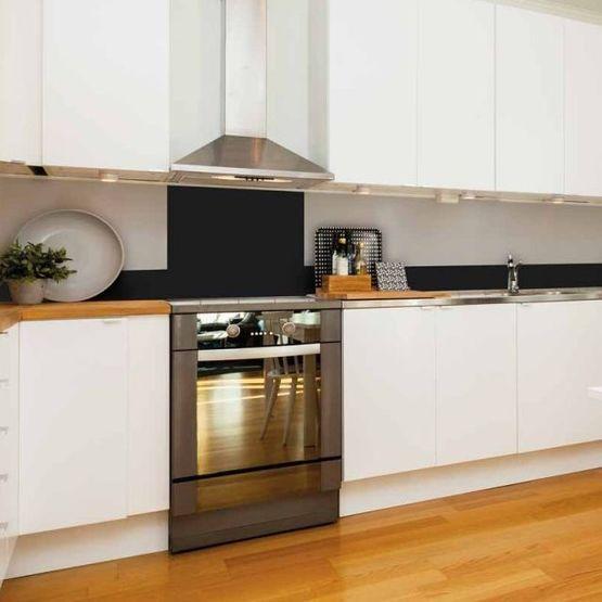 Cr dence unie et effet mati re cr dence de cuisine aluminium batiproduits - Credences de cuisine ...