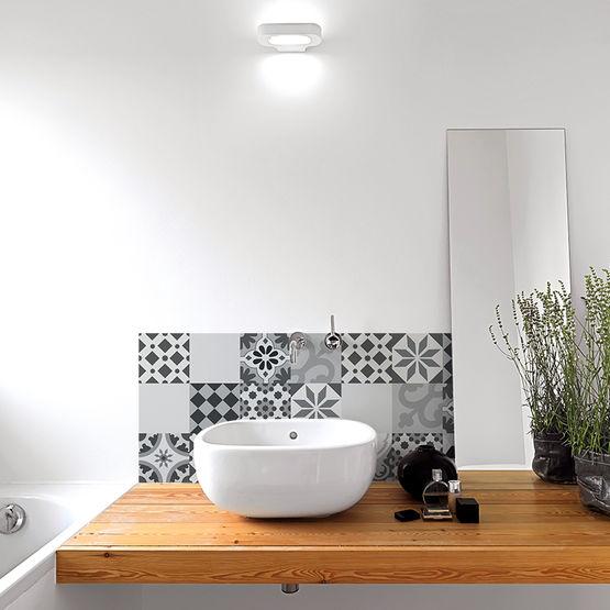 Crédence salle de bain PVC - Facile à poser – Batiproduits