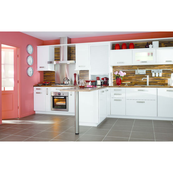 cuisine modulaire blanche lapeyre. Black Bedroom Furniture Sets. Home Design Ideas