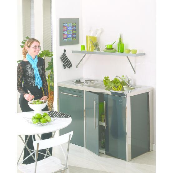 Amazing cuisinette en acier thermolaqu et inoxydable - Revue de decoration interieure ...