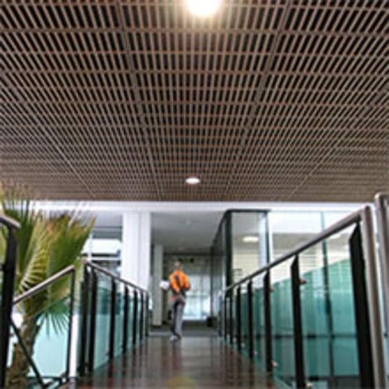Bien connu Dalle bois acoustique pour plafond | Dalle acoustique Aurique  JR91