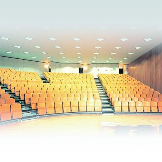 Dalle de plafond pour absorption et isolation acoustique thermatex silence knauf amf - Dalle isolation phonique plafond ...