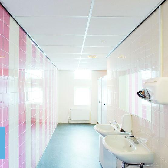 faux plafonds suspendus produits du btp - Faux Plafond Salle De Bain Humidite