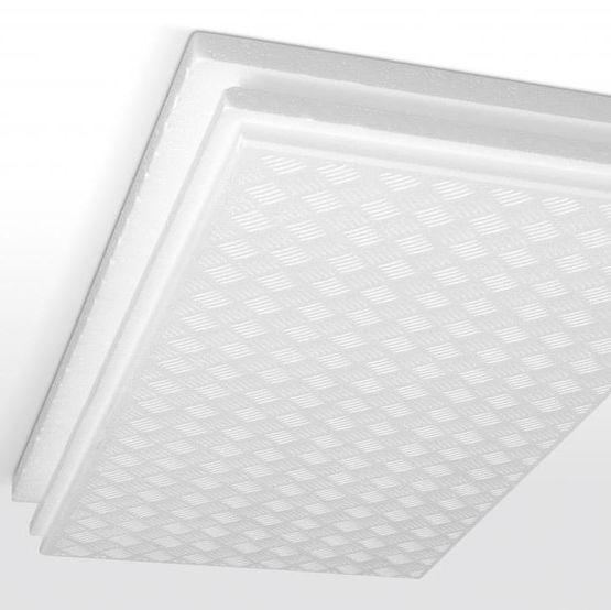 dalle d corative et isolante pour les sous faces de planchers d cobox 36 isobox isolation. Black Bedroom Furniture Sets. Home Design Ideas
