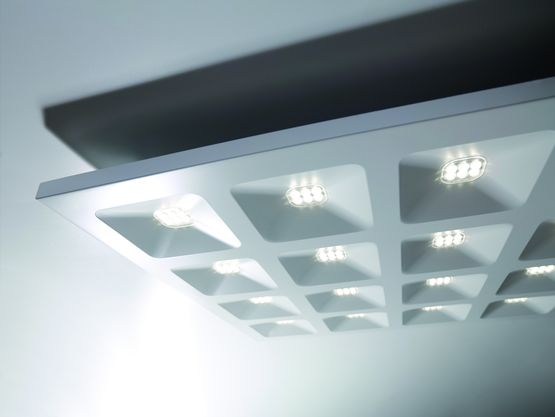 Dalle LED architecturale haut confort visuel | Quadro