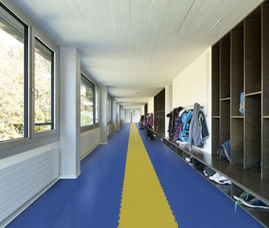 simple dalle pvc fortelock industrie bleu skin pdl with dalles fortelock. Black Bedroom Furniture Sets. Home Design Ideas
