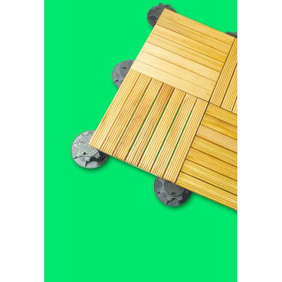 dalles en bois pour sol ext rieur confort et prestige axter. Black Bedroom Furniture Sets. Home Design Ideas