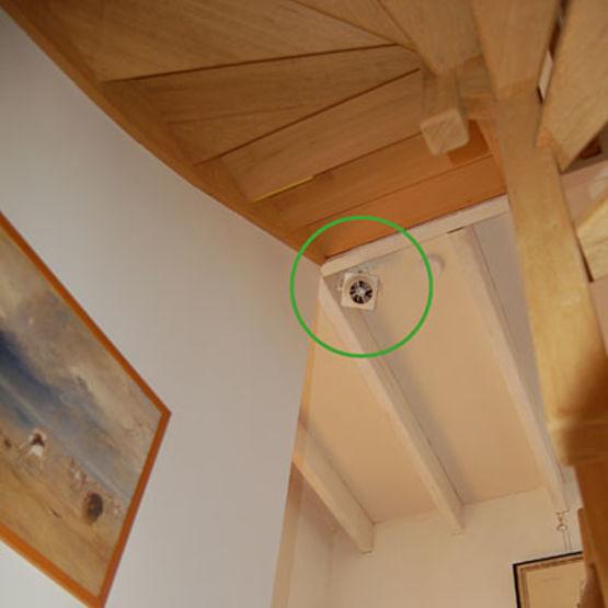 D stratificateur thermique jusqu 39 5 m de hauteur sous plafond warmy home - Hauteur sous plafond reglementaire ...