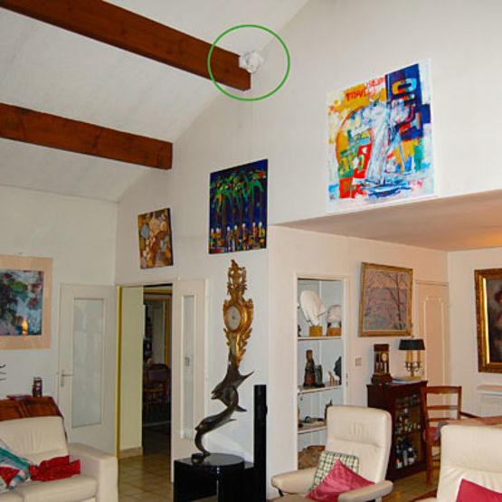 D stratificateur thermique jusqu 39 5 m de hauteur sous plafond warmy 200 m h warmy home - Hauteur de plafond standard ...