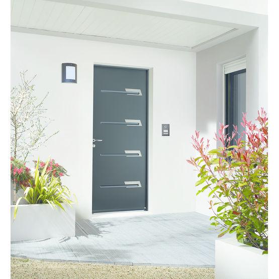 dormant aluminium pour porte acier du fabricant dormant. Black Bedroom Furniture Sets. Home Design Ideas