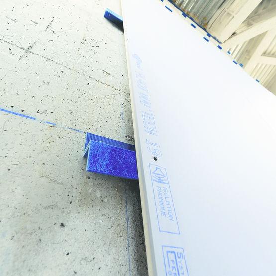 Doublage acoustique en pl tre sans ossature acier placo for Ossature acier