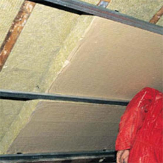 double panneaux pour isolation des combles am nag s. Black Bedroom Furniture Sets. Home Design Ideas