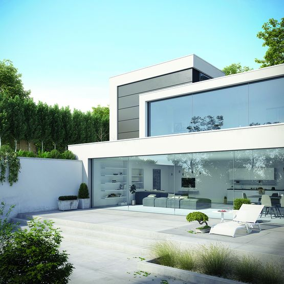 double vitrage pour baie vitr e sans menuiserie apparente thermobel scena agc glass europe. Black Bedroom Furniture Sets. Home Design Ideas