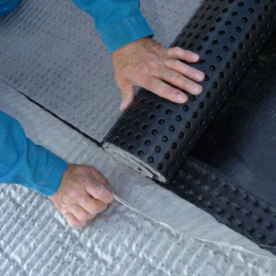 drainage pour sol scell coul ou sous protection lourde. Black Bedroom Furniture Sets. Home Design Ideas