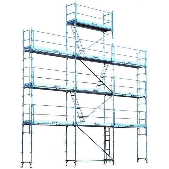 Echafaudage de façade à montage facilité | R200 Progress