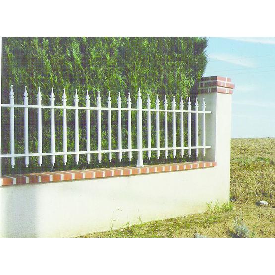 clôture métallique végétalisable | bipalis cloture - lambert - clôtures