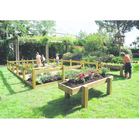 Enclos de jardinage pour enfants aire de jardinage pro for Les materiaux de jardinage